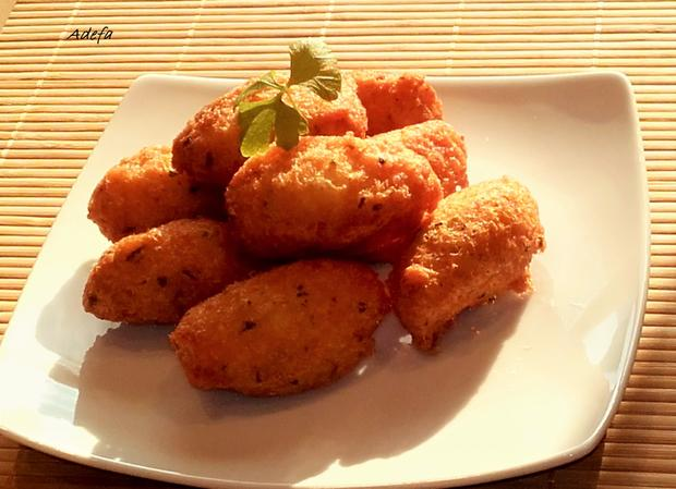 Pastéis de Bacalhau - Portugiesische Stockfisch Pasteten - Rezept - Bild Nr. 3227