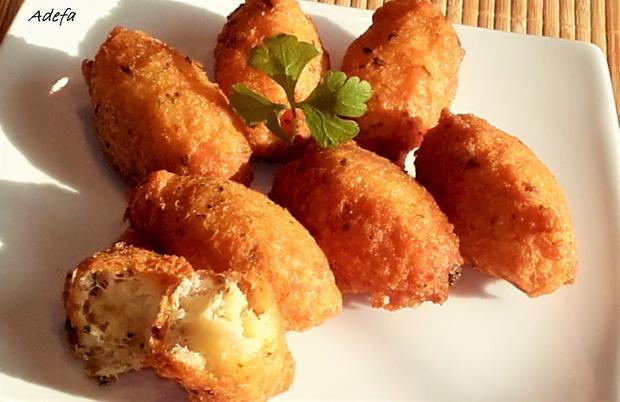 Pastéis de Bacalhau - Portugiesische Stockfisch Pasteten - Rezept - Bild Nr. 3228