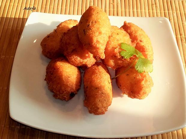 Pastéis de Bacalhau - Portugiesische Stockfisch Pasteten - Rezept - Bild Nr. 3229