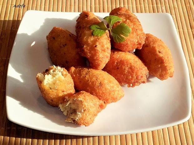 Pastéis de Bacalhau - Portugiesische Stockfisch Pasteten - Rezept - Bild Nr. 3230