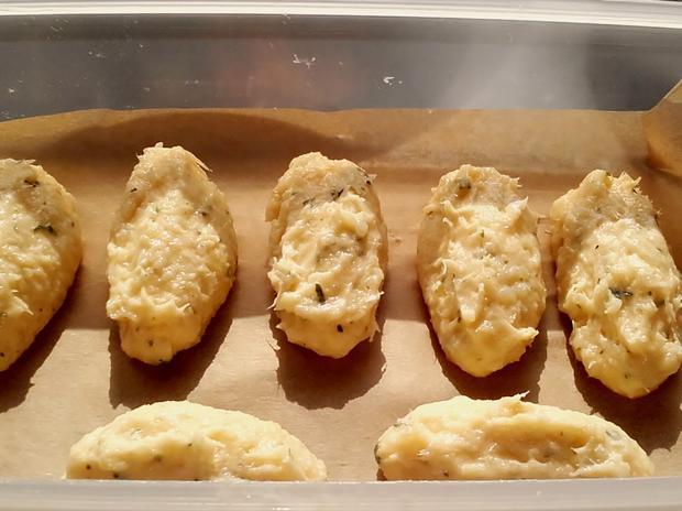 Pastéis de Bacalhau - Portugiesische Stockfisch Pasteten - Rezept - Bild Nr. 3236