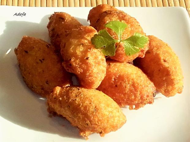 Pastéis de Bacalhau - Portugiesische Stockfisch Pasteten - Rezept - Bild Nr. 3240
