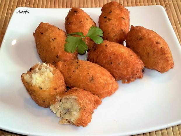 Pastéis de Bacalhau - Portugiesische Stockfisch Pasteten - Rezept - Bild Nr. 3241