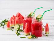 Wein-Slush mit Wassermelone und Rosé-Wein - Rezept - Bild Nr. 2