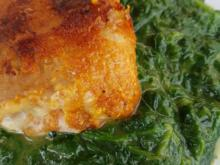 Fleisch / Schwein = Schmetterlingsschnitzel landet auf grüner Wiese à la Biggi - Rezept - Bild Nr. 3227