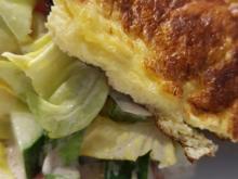 Omlet mit gem. Salat - Rezept - Bild Nr. 3228