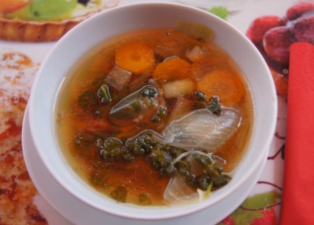 Rindfleisch-Gemüse-Suppe - Rezept - Bild Nr. 3241