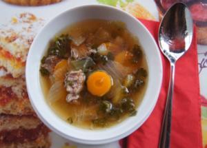 Rindfleisch-Gemüse-Suppe - Rezept - Bild Nr. 3242