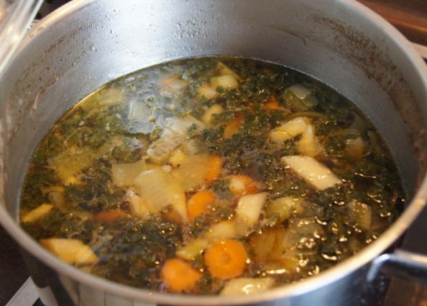 Rindfleisch-Gemüse-Suppe - Rezept - Bild Nr. 3243
