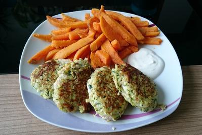Hähnchen-Nuggets im Zucchini-Mantel - Rezept - Bild Nr. 3252