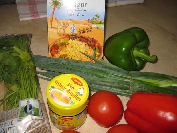 Bulgur-Salat - Rezept - Bild Nr. 3248