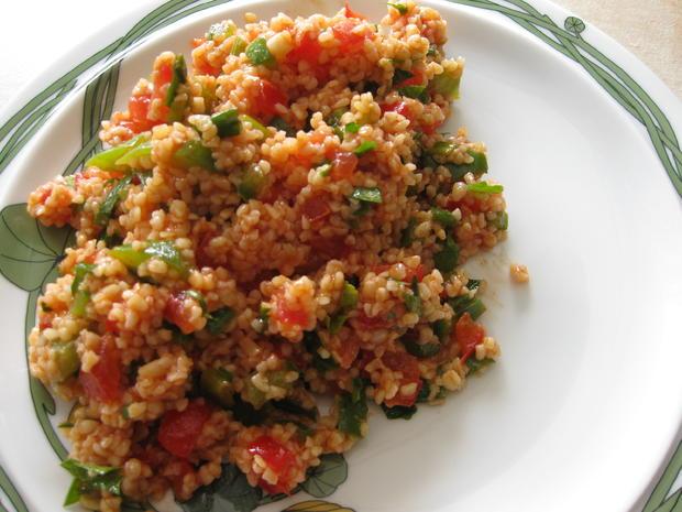 Bulgur-Salat - Rezept - Bild Nr. 3249