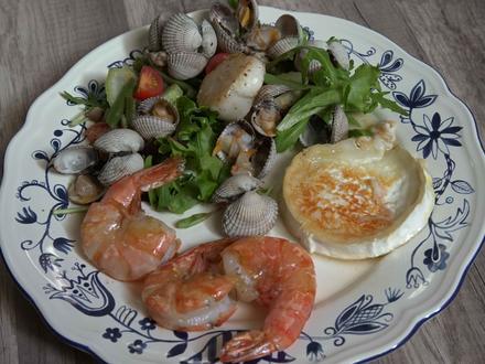 Mediterraner Gambas Salat - Rezept - Bild Nr. 2