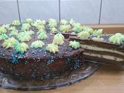 Pudding-Buttercreme Torte - Rezept - Bild Nr. 3301