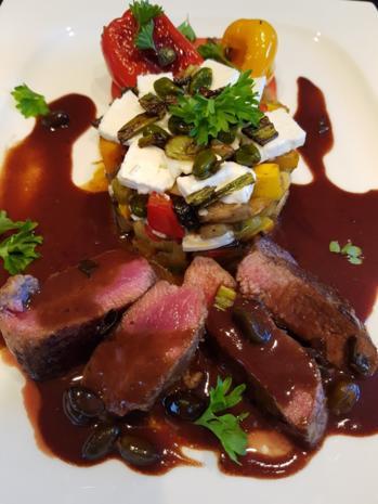 Fleisch / Lamm = Lammlachs mit Beilage à la Biggi - Rezept - Bild Nr. 3322