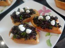 Oliven-Cranberry-Crostini mit Mozzarella Perlen - Rezept - Bild Nr. 3322