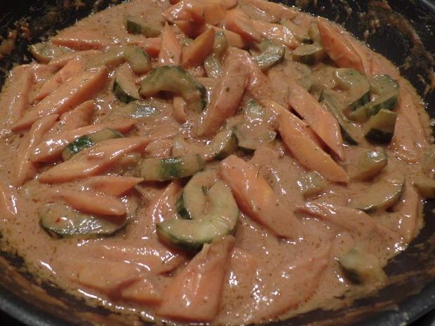 Mie-Nudeln mit Erdnuss-sauce - Rezept - Bild Nr. 3349
