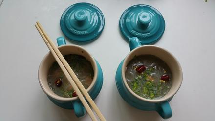 Kalte, koreanische Nudelsuppe - Rezept - Bild Nr. 3624