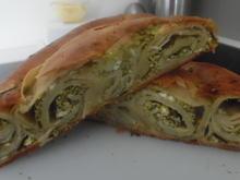 Baniza mit Spinat-Feta-Füllung - Rezept - Bild Nr. 3354