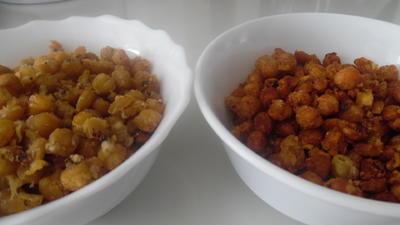 Rezept: Parmesan-Kichererbsen
