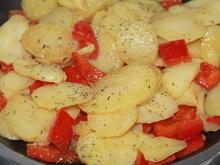 Bratkartoffel mit Paprika - Rezept - Bild Nr. 2