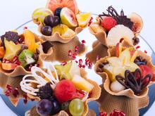 No Bake - Mini-Obsttörtchen und lustige Schokoküsse - Rezept - Bild Nr. 2