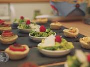 Zweierlei Miniquiches mit kleiner Salatbeilage - Rezept - Bild Nr. 2