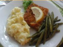 Schlemmer-Filet mit grünen Buschbohnen und pikanten Kartoffelstampf - Rezept - Bild Nr. 2