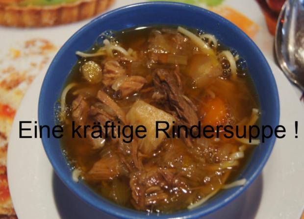 Falsches Rinderfilet gekocht mit Semmelknödel und Gemüsesauce - Rezept - Bild Nr. 3389