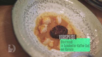 Blunznradl in Schalentier-Kaffee-Sud - Rezept - Bild Nr. 3440