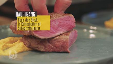 Sous vide Steak in Kaffeebutter mit Süßkartoffelpüree - Rezept - Bild Nr. 3441