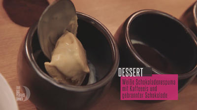 Weißer Schokoladen-Espuma, Kaffeehippe & weißes Kaffee-Eis - Rezept - Bild Nr. 3440