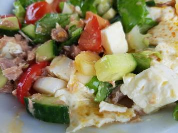 Biggi`s Salate = Gurken Tomaten ein bunter MIX plus Wunschkonzert - Rezept - Bild Nr. 3389