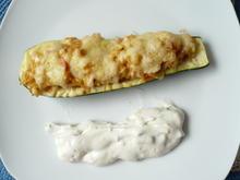 Gefüllte Zucchini griechische Art - Rezept - Bild Nr. 3427