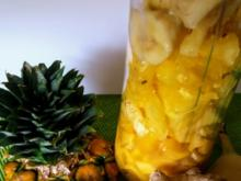 Banane-Mango-Ananas-Smoothie - Rezept - Bild Nr. 3427