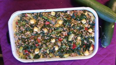Gnocchiauflauf mit Hackfleisch und Gemüse - Rezept - Bild Nr. 3433