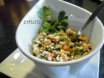 Rezept: Taboule' - libanesischer Couscous Salat