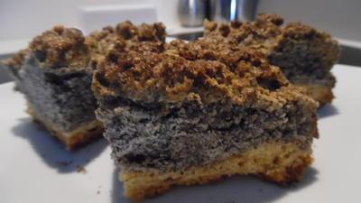 Mohn-Knusper-Kuchen - Rezept - Bild Nr. 3442