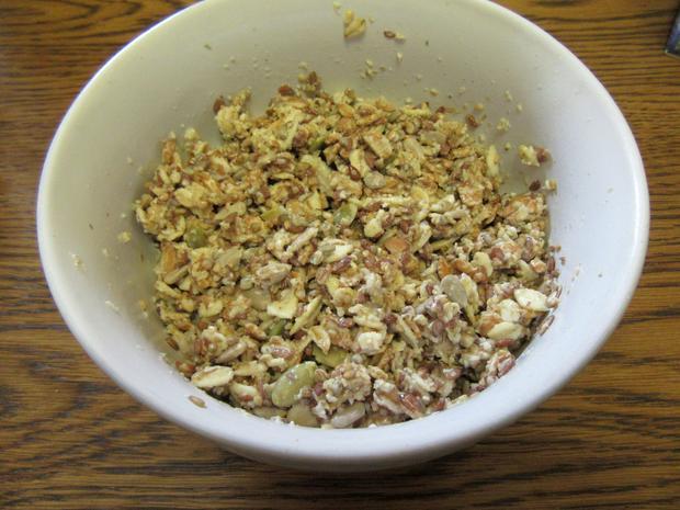 Sauerteig-Mischbrot mit Saaten - Rezept - Bild Nr. 3441