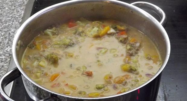 Gemüse Soße mit Hackfleisch - Rezept - Bild Nr. 2