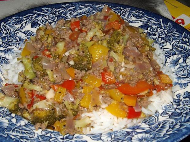 Gemüse Soße mit Hackfleisch - Rezept - Bild Nr. 3