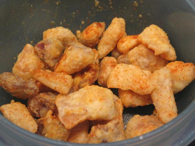 Suppen: Karotten-Sellerie-Creme mit Hähnchen-Croutons - Rezept - Bild Nr. 3447