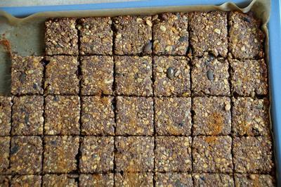 Snack: Gesunde Körner-Müsli-Frühstücks-Riegel - Rezept - Bild Nr. 2