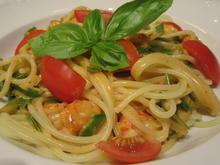 Pasta: Spaghetti mit Krebsschwanz-Zuckerschoten-Ragout - Rezept - Bild Nr. 3455