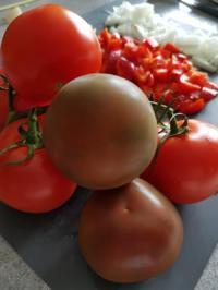 Biggi`s Sossen / DIP`s = Pilz-Tomaten-Paprika Sosse - Rezept - Bild Nr. 3461