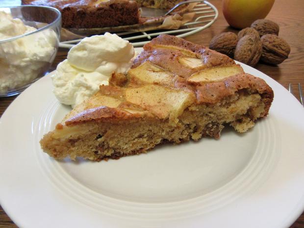 Walnuss Buchweizen Apfel Kuchen Rezept Kochbar De