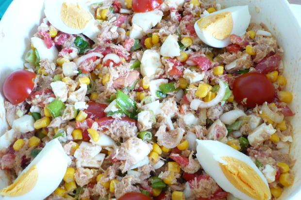 Thunfisch - Salat - Rezept - Bild Nr. 3480