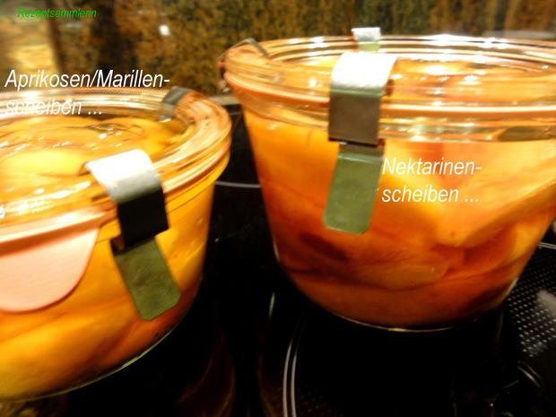 Nektarinen in Punschsirup eingelegt - Rezept - Bild Nr. 3513