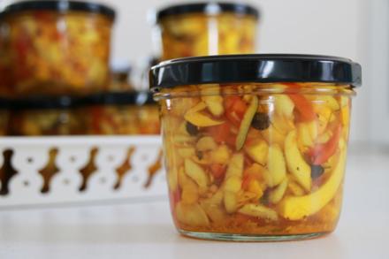 Eingelegte Zucchini - Rezept - Bild Nr. 3487