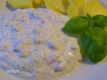 Leichter Kräuterquark an Pellkartoffeln - Rezept